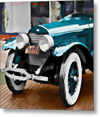 Old Car Metal Print by Robert Smith