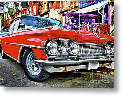 Old Car Metal Print by Sarah Mullin