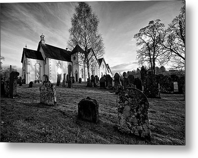 Metal Print featuring the photograph Old Church At Drymen by Stephen Taylor