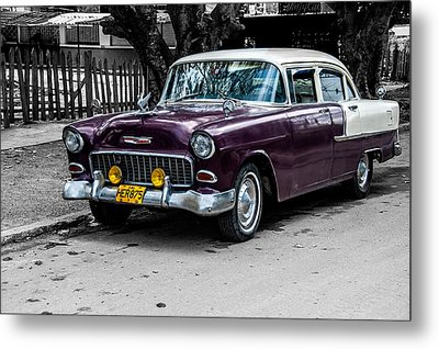 Old Classic Car Iv Metal Print