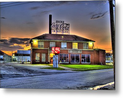 Old Coca Cola Bottling Plant Metal Print