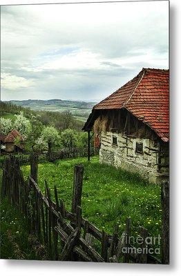 Old Cottage Metal Print by Jelena Jovanovic
