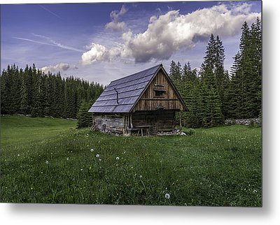 Old Cottage Metal Print by Robert Krajnc