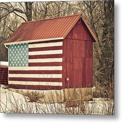 Old Country America Metal Print by Trish Tritz