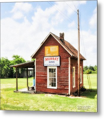 Old Country Cotton Gin Store -  South Carolina - I Metal Print