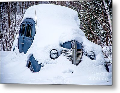 Old Coupe Metal Print by Alana Ranney