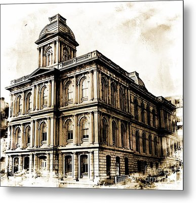 Old Custom House Metal Print