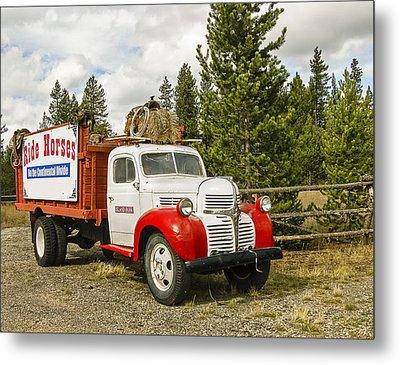 Old Dodge Truck Metal Print