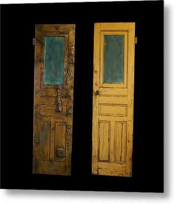 Old Door Metal Print by Christopher Schranck