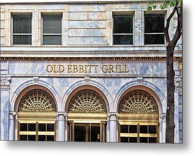 Old Ebbitt Grill Metal Print