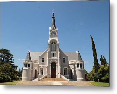 Old Faith In The Country Metal Print by Taschja Hattingh