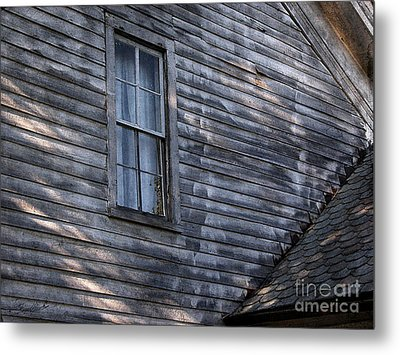 Old Farm House Detail Metal Print