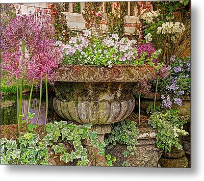 Old Fashioned Planters Metal Print by Gill Billington
