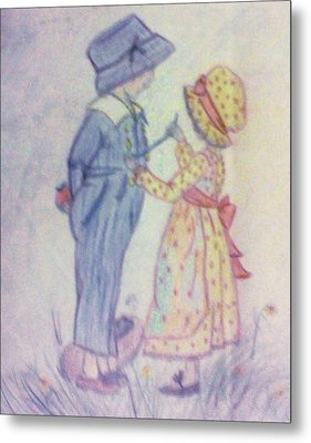 Old Fashioned Romance Metal Print by Christy Saunders Church