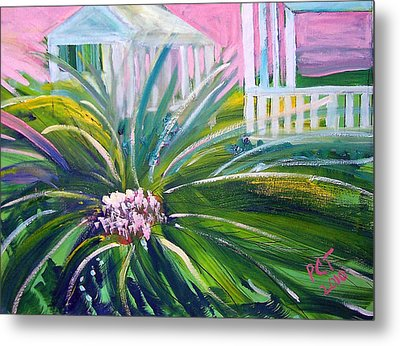 Old Florida Metal Print by Patricia Taylor