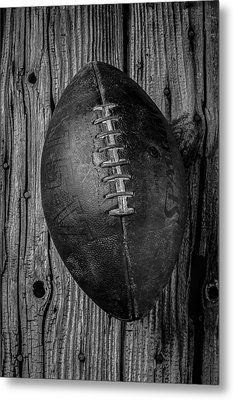 Old Football Metal Print by Garry Gay