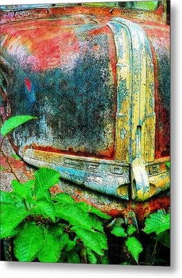Old Ford #1 Metal Print by Sandy MacGowan