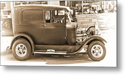 Old Ford Metal Print