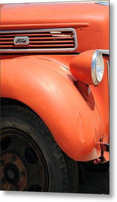 Old Ford Pickup Metal Print by Harold E McCray