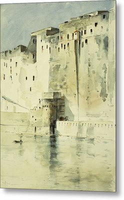 Old Fortress Naples Metal Print