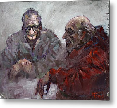 Old Friends Metal Print by Ylli Haruni