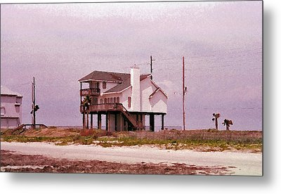 Old Galveston Metal Print