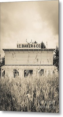 Old General Store Metal Print by Edward Fielding