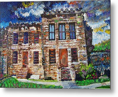 Old Georgetown Jail Metal Print by GretchenArt FineArt