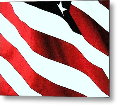 Old Glory Metal Print by Dan Twyman