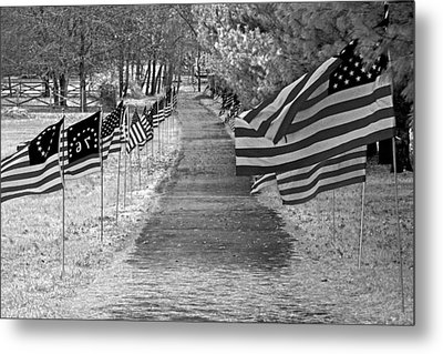 Old Glory Ir Metal Print
