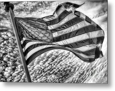 Old Glory Metal Print by Jack Torcello