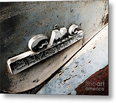 Old Gmc Metal Print by Kimberly Maiden