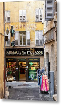 Old Grasse Metal Print by Juergen Klust