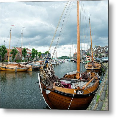 Old Harbor Metal Print by Hans Engbers