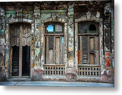 Old Havana House Metal Print