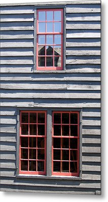 Metal Print featuring the photograph Old House Greenfield Village Michigan by Mary Bedy