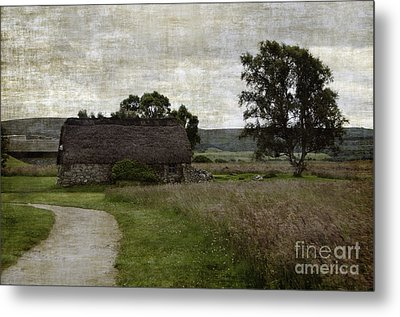 Old House In Culloden Battlefield Metal Print by RicardMN Photography