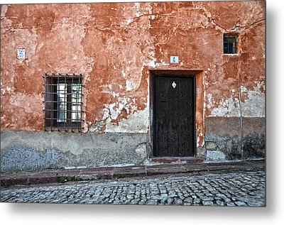 Old House Over Cobbled Ground Metal Print by RicardMN Photography