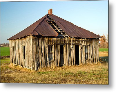 Old House Place Arkansas 2 Metal Print by Douglas Barnett