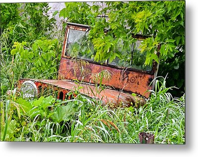 Old Jeep Metal Print