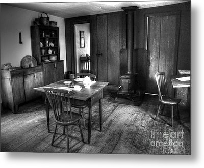 Old Kitchen Metal Print by Kathleen Struckle