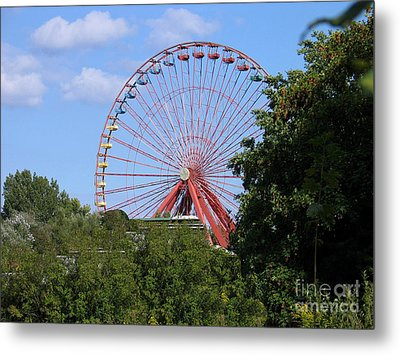 Metal Print featuring the photograph Old Leisure Park Planterwald by Art Photography