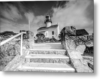 Metal Print featuring the photograph Old Light House by Robert  Aycock