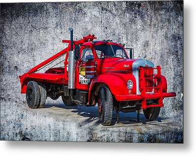 Old Mack Truck Metal Print