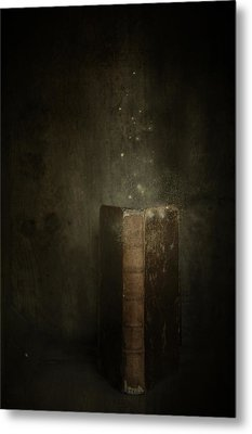 Metal Print featuring the photograph Old Magic Book by Ethiriel  Photography