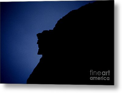 Old Man Of The Mountain - Franconia Notch State Park New Hampshire Metal Print