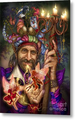 Old Man Of The Woods Metal Print by Ciro Marchetti