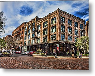 Old Market Metal Print