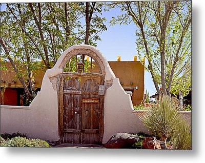 Old Mesilla - Las Cruces Nm Metal Print by Christine Till