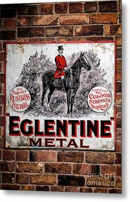 Old Metal Sign Metal Print